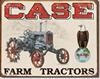 1230 CASE TRACTOR - CC HIGH TIN SIGN DSPRT