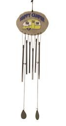 02927 HAPPY CAMPER WIND CHIME SPOONTQ