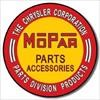 613 MOPAR TIN SIGN DSPRT