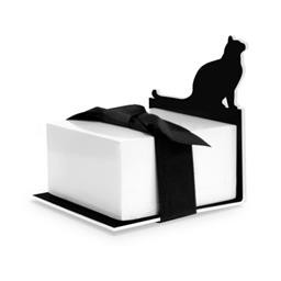 8523 CAT SILHOUETTE - STICKY NOTE STAND WELLSPRING