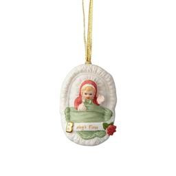 4058388 BABY BLONDE ORNAMENT GROWING UP GIRLS ENESCO