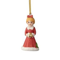 4058392 AGE 4 BLONDE ORNAMENT GROWING UP GIRLS ENESCO