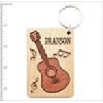 3838BR BRANSON WOODEN TWO TONED CARVED KEYRING SCOTT