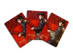 E8803 ELVIS - PLAYING CARDS RED MDSTH