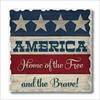 01-01724 LAND OF THE FREE COASTERS SET OF 4 GLDC