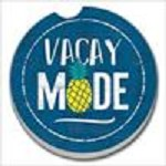 03-01574 VACAY MODE CAR COASTER GLDC