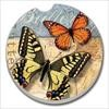 03-00026 YELLOW SWALLOWTAIL & MONARCH CAR COASTER COUNTER
