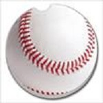 12228 BASEBALL CAR COASTER GLDC
