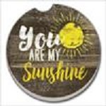 03-01386 YOU ARE MY SUNSHINE CAR COASTER GLDC