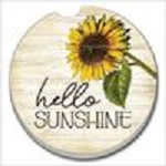 03-01575 HELLO SUNSHINE CAR COASTER COUNTER