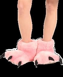 BP227M M PINK BEAR PAW SLIPPER LAZY