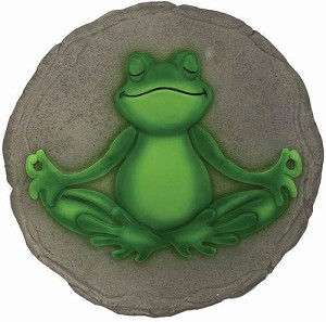 13248 YOGA FROG STEPPING STONE SPOONTQ