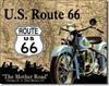 678 THE MOTHER ROAD TIN SIGN DSPRT